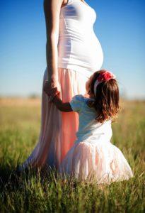妊婦さん 女の子と
